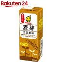 マルサン 豆乳飲料 麦芽 200ml×24本【楽天24】【ケース販売】[マルサン 豆乳]