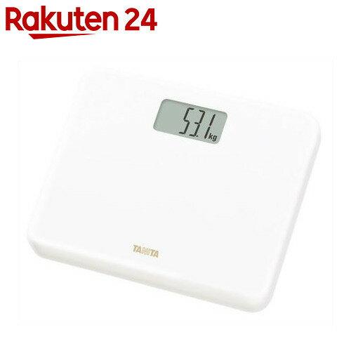 タニタ デジタル ヘルスメーター(体重計) HD-660 ホワイト
