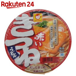 赤いきつねうどん 西 96g×12個【楽天24】【ケース販売】[東洋水産 マルちゃん カップラーメン(カップ麺)]【exp2】