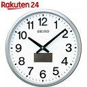 セイコー ハイブリッドソーラー 電波掛時計 SF242S【楽天24】[SEIKO(セイコー) 電波時計]