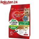 ビューティープロ 猫下部尿路の健康維持 低脂肪 1歳から フィッシュ味 1.4kg(280g×5袋)【楽天24】[BEAUTY pro(ビューティプロ) キャットフード(尿石形成予防)]