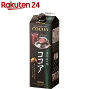 守山 喫茶店の味 ココア 1000ml×6本