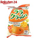 【ケース販売】蒟蒻畑 ララクラッシュ オレンジ味 24g×8個入×12袋