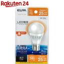 エルパ(ELPA) LED電球 ミニクリプトン球型 25W形 E17 電球色 LDA4L-H-E17-G407【楽天24】[ELPA(エルパ) LED電球]