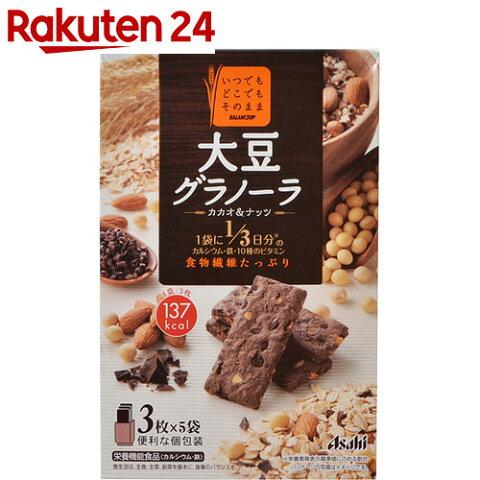 バランスアップ 大豆グラノーラ カカオ&ナッツ 150g(3枚×5袋)