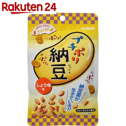 カンロ プチポリ納豆 しょうゆ味 18g×6個の商品画像