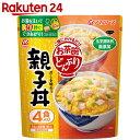 アマノフーズ お茶碗どんぶり 親子丼 4食 48g(12g×4食)...