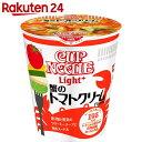 日清 カップヌードルライトプラス 蟹のトマトクリーム 58g×12個【楽天24】【ケース販売】