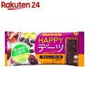 UHA味覚糖 HAPPYデーツ ラムレーズン味 4本入×10袋【楽天24】【あす楽対応】[ハッピーデーツ 菓子(マクロビオティッ…