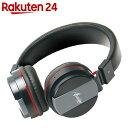 Bluetooth ヘッドホン JL-BT-001 ブラック KK-00336BK【楽天24】[ピーナッツクラブ ヘッドホン・イヤホン]
