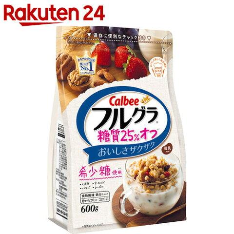 カルビー フルグラ 糖質25%オフ 600g×6袋