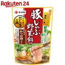 ヤマキ 豚しゃぶ野菜鍋つゆ 750g【SPDL_5】