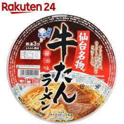 だい久製麺 牛たんラーメン 醤油味 138g×12個【楽天24】【ケース販売】[だい久製麺 カップ麺]