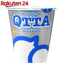 QTTA(クッタ) シーフード味 72g×12個【楽天24】【ケース販売】[マルちゃん カップ麺]