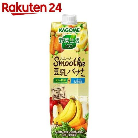 野菜生活100 スムージー豆乳バナナミックス 1000g×6本入