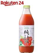 マルカイ 順造選 純トマトジュース 食塩無添加 1L×6本