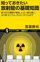 知っておきたい放射能の基礎知識原子炉の種類や構造、α・β・γ線の違い、ヨウ素・セシウム・ストロンチウ