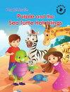 Purple Turtle - Purple and the Sea Turtle Hatchlings