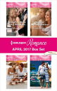 Harlequin Romance April 2017 Box SetStranded with the Secret Billionai...