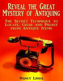 Reveal the Great Mystery of Antiquing: The Secret Technique to Locate, Grab and Profit from Antique Items
