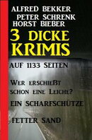 Heimt���ckisch: Ein Krimi Trio - 1000 Seiten Spannung