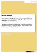 Internationale Rechnungslegung nach dem IFRS-Jahresabschluss