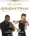 西洋書籍 - Air from Aylesford Pieces Pure sheet music duet for Eb instrument and double bass arranged by Lars Christian Lundholm【電子書籍】[ Pure Sheet Music ]