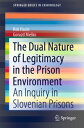 The Dual Nature of Legitimacy in the Prison EnvironmentAn Inquiry in Slovenian Prisons