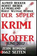 Der Super Krimi Koffer Mai 2016