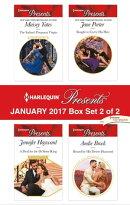 Harlequin Presents January 2017 - Box Set 2 of 2