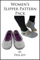 Women's Slipper Pattern Pack