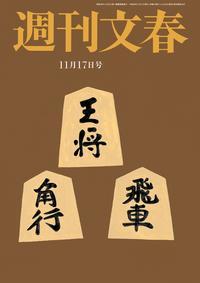 週刊文春11月17日号
