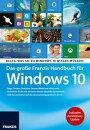 Das gro���e Franzis Handbuch f���r Windows 10