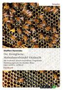 Die Honigbiene: Ma���nahmenb���ndel Vitalzucht