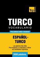 Vocabulario espa���ol-turco - 3000 palabras m���s usadas