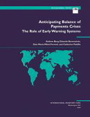 Anticipating Balance of Payments Crises--The Role of Early Warning Systems