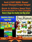 Graphic Novels For Kids With Comic Illustrations - Dog Humor Books