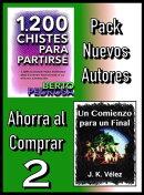Pack Nuevos Autores Ahorra al Comprar 2: 1200 Chistes para partirse, de Berto Pedrosa & Un Comienzo para un ��