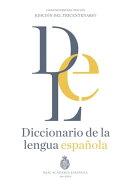 Diccionario de la lengua Espa���ola. Vigesimotercera edici���n. Versi���n normal