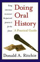 Doing Oral History【電子書籍】 Donald A. Ritchie