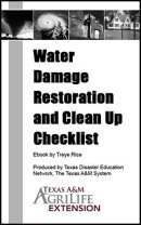 Water Damage Restoration and Clean Up Checklist