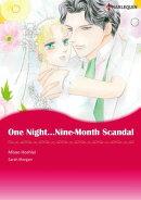One Night��Nine-Month Scandal (Harlequin Comics)