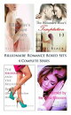 Billionaire Romance Boxed Sets: The Billionaire's Pregnant Secretary\The Billionaire Boss's Temptation\The Shopaholic and the Billionaire\Claimed by the Alpha Billionaire