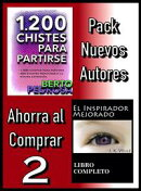 Pack Nuevos Autores Ahorra al Comprar 2: 1200 Chistes para partirse, de Berto Pedrosa & El Inspirador Mejora��