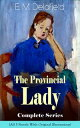 The Provincial Lady Complete Series - All 5 Novels With Original Illus...