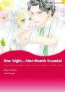 One Night��Nine-Month Scandal (Mills & Boon Comics)
