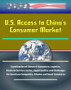 U.S. Access to China's Consumer Market: Examination of Chinese E-Commerce, Logistics, Financial Services Sector, Opportunities and Challenges for American Companies, Alibaba and Social Commerce