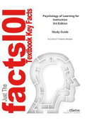 e-Study Guide for: Psychology of Learning for Instruction by Marcy P. Driscoll, ISBN 9780205375196
