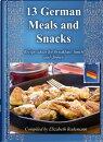 13 German Meals & Snacks