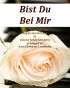 Bist Du Bei Mir Pure sheet music for organ and clarinet by Johann Seba...